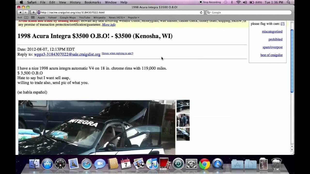 Craigslist Kenosha Wisconsin Used Cars, Vans and Trucks ...