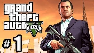 Grand Theft Auto 5 Gameplay Walkthrough Part 1 Prologue