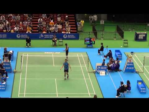 [HD] R16 - MS - Lee Chong Wei vs Marc Zwiebler - 2014 Badminton Japan Open