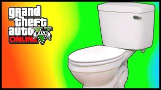 GTA 5 Mods: TOILET MOD! GTA 5 Driving A Toilet Mod