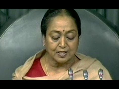 Seemandhra MPs Suspended from LS - Meira Kumar