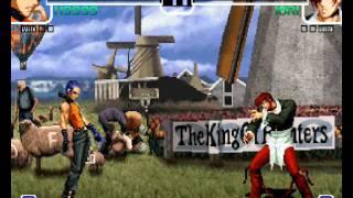 Como Dar Secreto Do K9999 The King Of Fighters 2002