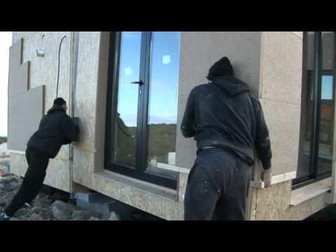 Maison ginkgo les maisons en bois modulaires r alisation vid o avr com youtube - Maison ginkgo ...