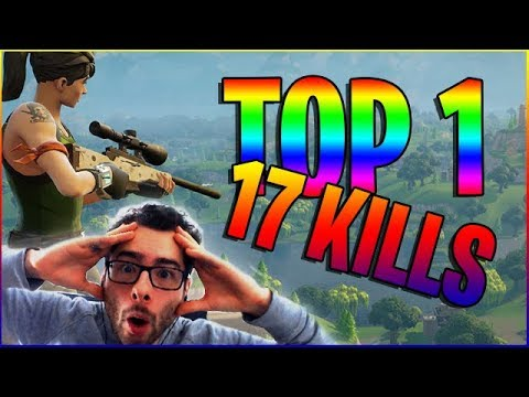 FORTNITE TOP 1 SOLO : 17KILLS - LE STRESS !