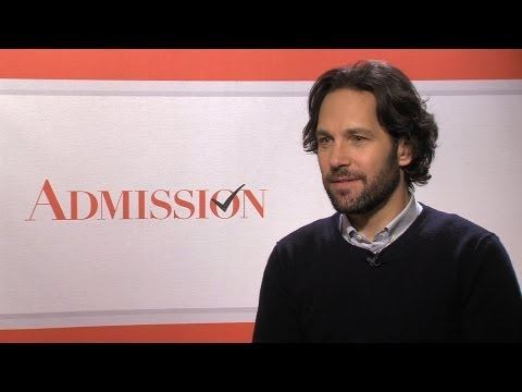 'Admission' Paul Rudd Interview
