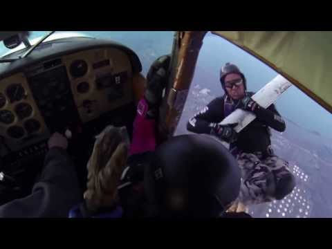 SKYDIVING ACCIDENT  PLANE LOSSES WING