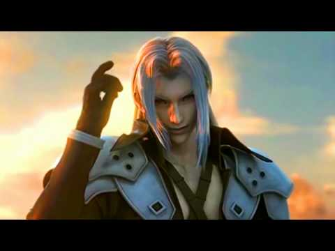 Angeal vs. Genesis vs. Sephiroth (HD, Full Screen, 1080p)