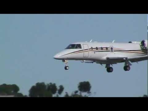 Gulfstream G150 [N802RR] Landing