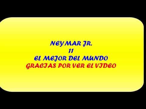 Las mejores jugadas de neymar