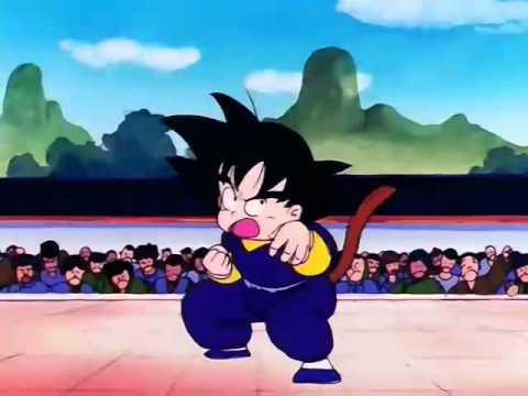 DB 80 Una pelea en presencia del rey , Goku contra Tenlong (Parte2 LATINO)