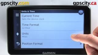 Garmin Nuvi 2797LMT: Unit And Time Settings