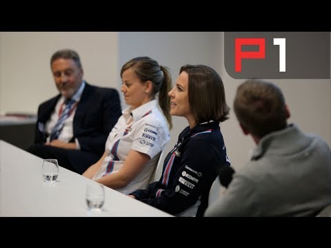Silverstone Fan Forum - Claire Williams, Susie Wolff and Bob Bell