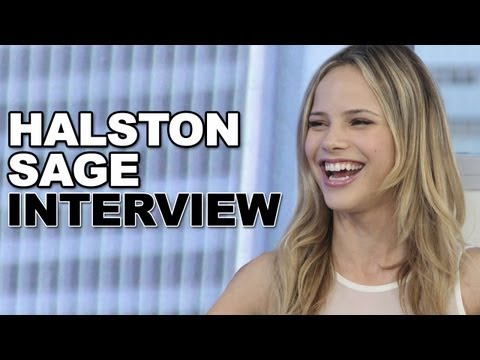 Halston Sage Talks 'Grown Ups 2' & Kissing Zac Efron