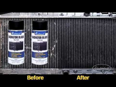 How To Clean And Paint A Car Radiator
