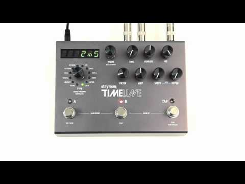 Strymon TimeLine - Lo-Fi Delay Machine audio clips