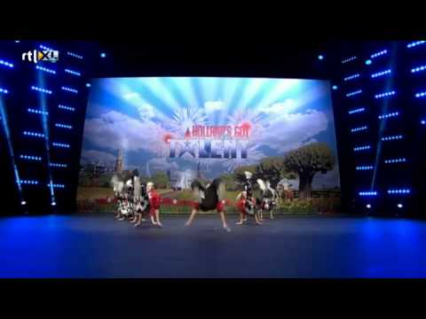 The Life Dancers dansen de pannen van het dak! - HOLLAND'S GOT TALENT