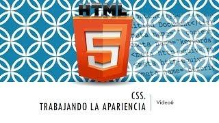 Curso de HTML 5. Parte 6