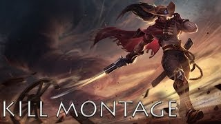 League Of Legends Yasuo Kill Compilation Montage