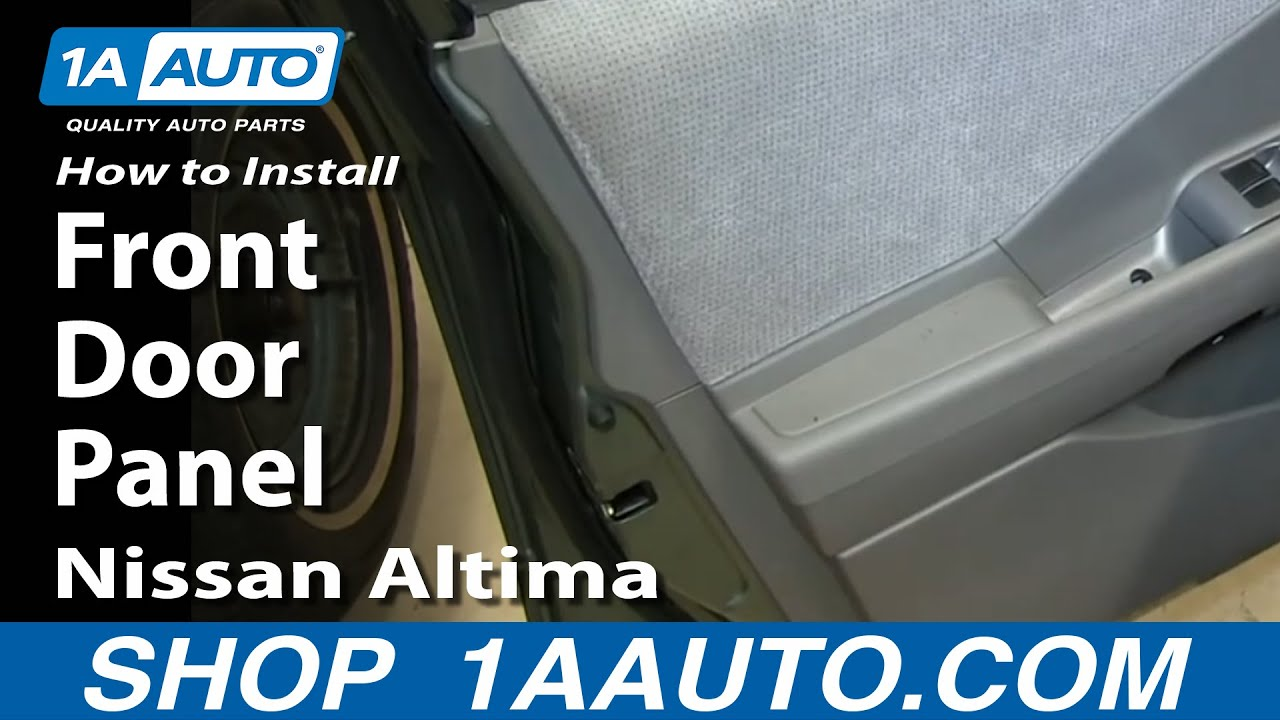 2002 nissan altima door removal how to install replace for 2002 nissan altima window regulator