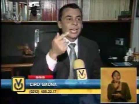 Dr. CIRO GAONA CON ANA ALICIA ALBA EN VENEVISION. CUIDANDO EL CEREBRO DEL  ALZHEIMER.