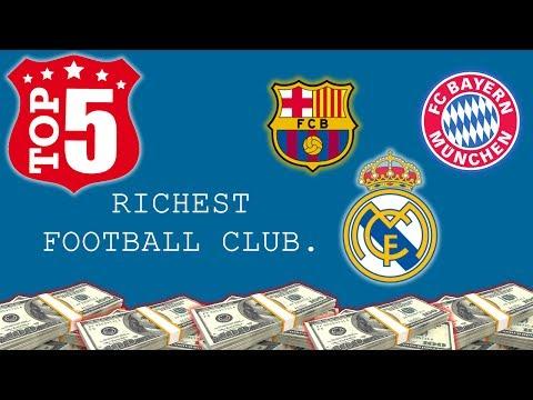 TOP 5 RICHEST FOOTBALL CLUBS (2014)