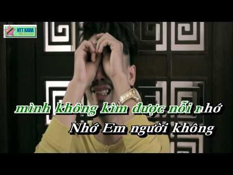 [Karaoke] Anh Nhớ Em Người Yêu Cũ - Minh Vương (beat phối)