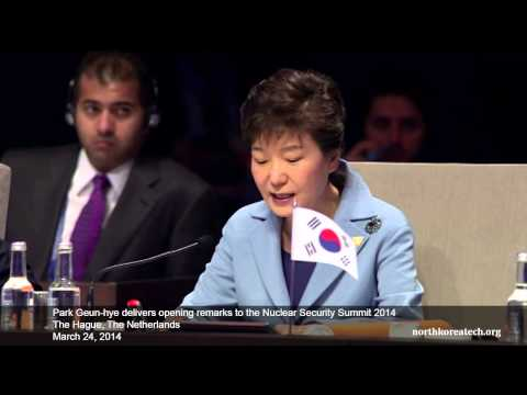 (한국어) Park Geun-hye's remarks to the Nuclear Security Summit 2014