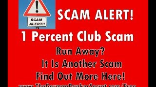1 Percent Club Scam This Review Shows 1 Percent Club Is