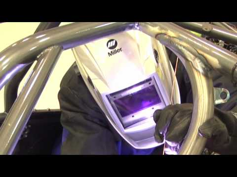 TIG Welding at Cagnazzi Racing with Miller's Dynasty® 200