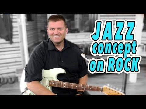 JAZZ CONCEPT IN ROCK SOLOING - Guitar Lesson