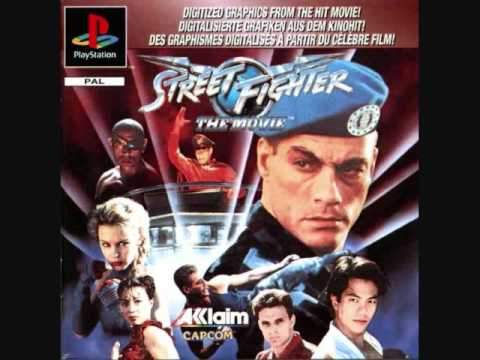 Street Fighter The Movie Game PSX Guile vs M.Bison
