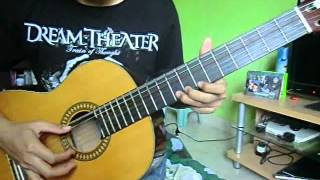 TUTORIAL DORAEMON THEME SONG ON GUITAR (ORIGINAL VERSION ...