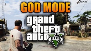 GTA 5: God Mode Cheat Code Xbox 360 PS3 (GTA V)
