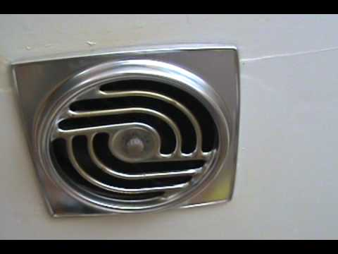 1969 vintage venaire kitchen exhaust fan youtube for Kitchen exhaust fan
