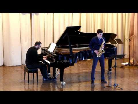GOLDEN SAXOPHONE 2015. Valentin Kovalev. Roberto Marino «Duo Concerto»