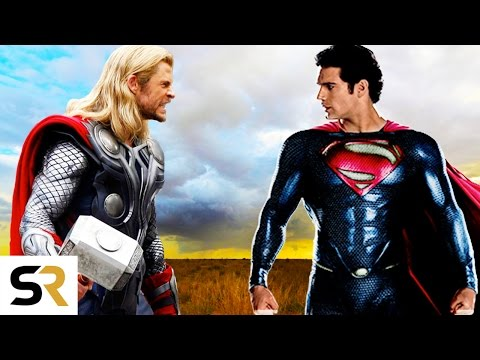 Superman VS Thor: Clash of the Gods - New Epic Fan Trailer (Marvel VS DC)