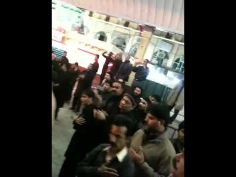 5th moharram 2012 Najaf e Ashraf sayed Sibtain shah party