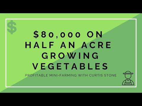 $80,000 on Half An Acre Farming Vegetables - Profitable Mini-Farming with Curtis Stone