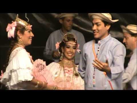 Agrupación Panamá Folklore en España 2013 Bailes Danzón Cumbia y La Denesa