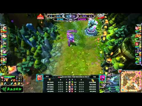 [GPL 2012] [Tuần 20] BangkokTitans vs Taipei Assassins  [09.11.2012]
