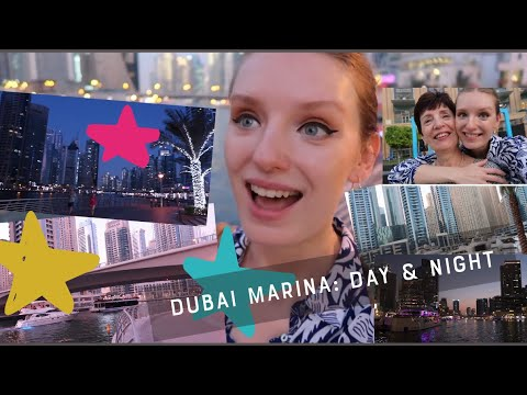 DUBAI MARINA VLOG: DAY & NIGHT MAKES CRAZY DIFFERENCE!