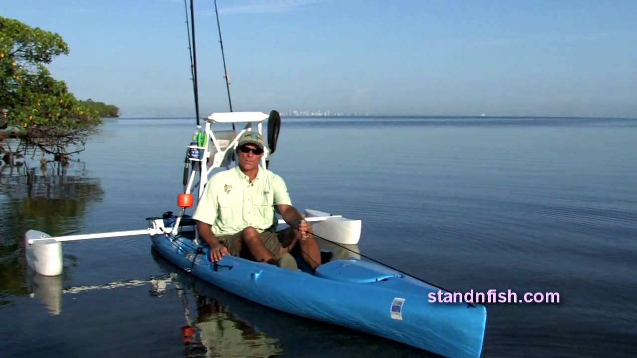 Stand N Fish Stand And Fish Intro Kayak Pontoon System