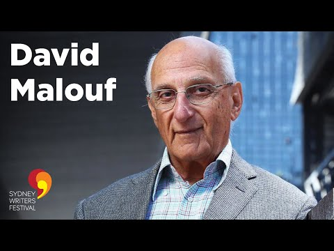 David Malouf Interviewed by Tegan Bennett Daylight at Sydney Writers' Festival