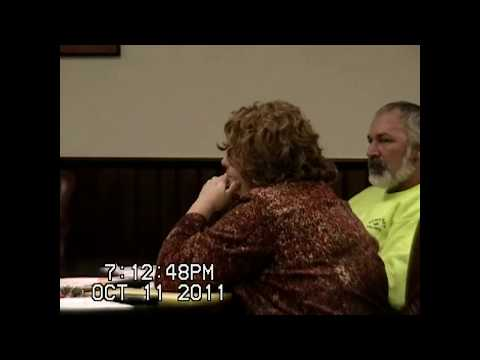 Chazy Town Board Meeting 10-11-11