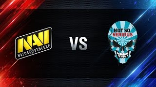 Not So Serious vs Natus Vincere - day 4 week 7 Season I Gold Series WGL RU 2016/17