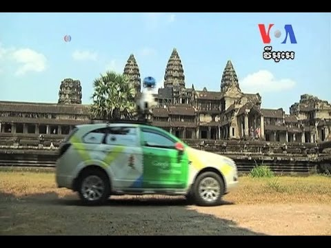 Cambodia's Angkor Wat Joins Google's List of Online Tourist Sites អង្គរវត្ត