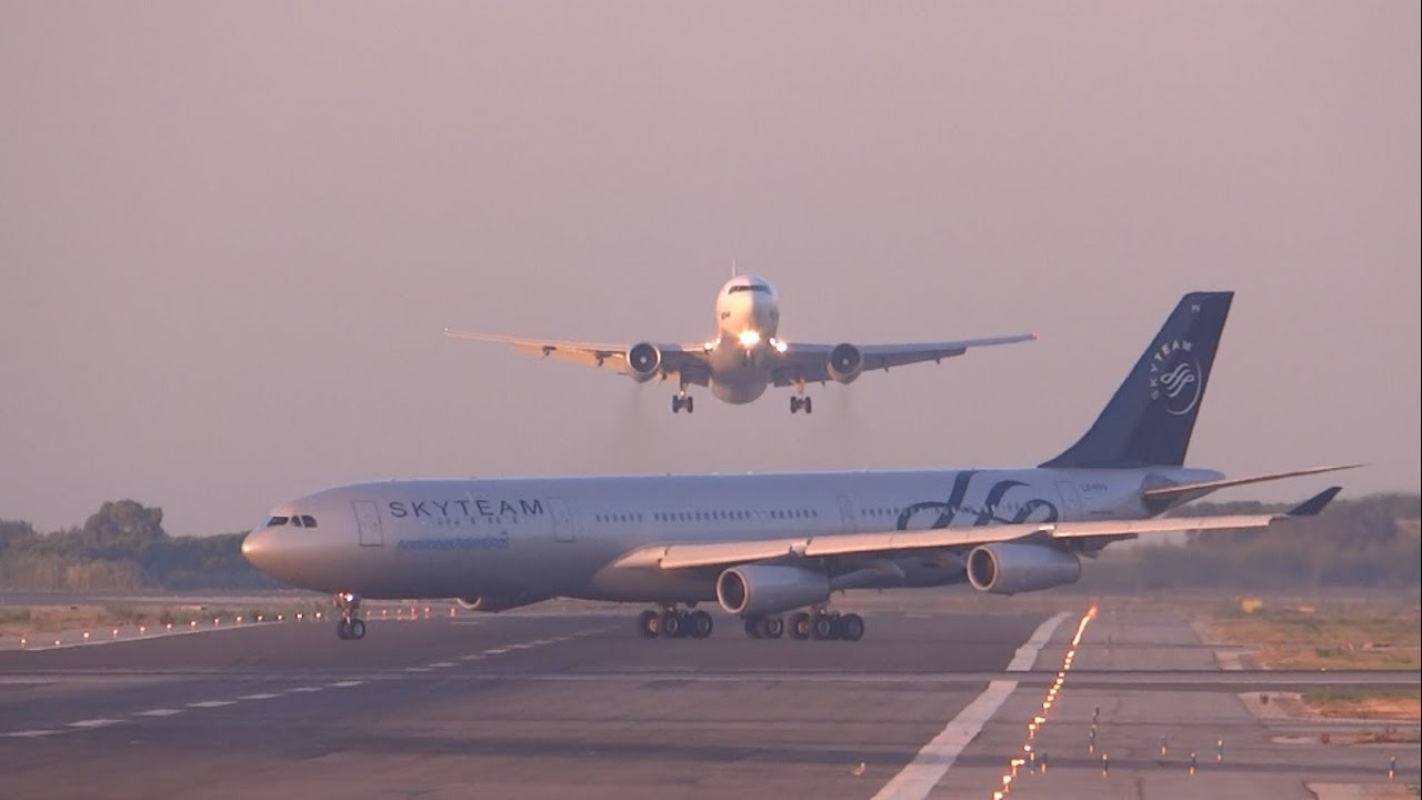 Un Boeing 767 manque de peu de se crasher