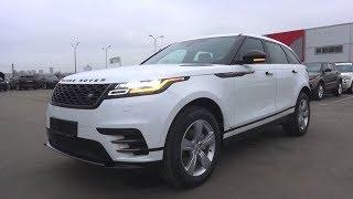 Высокотехнологичный и Ультрасовременный Land Rover Range Rover Velar 2017. Обзор.. MegaRetr