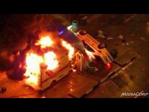 Singapore Riot : Singapore shocked by worst riots in decades, as migrant workers vent anger