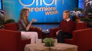 Ellen: Celine Dion Warms Up